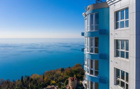 вид из квартиры южное море