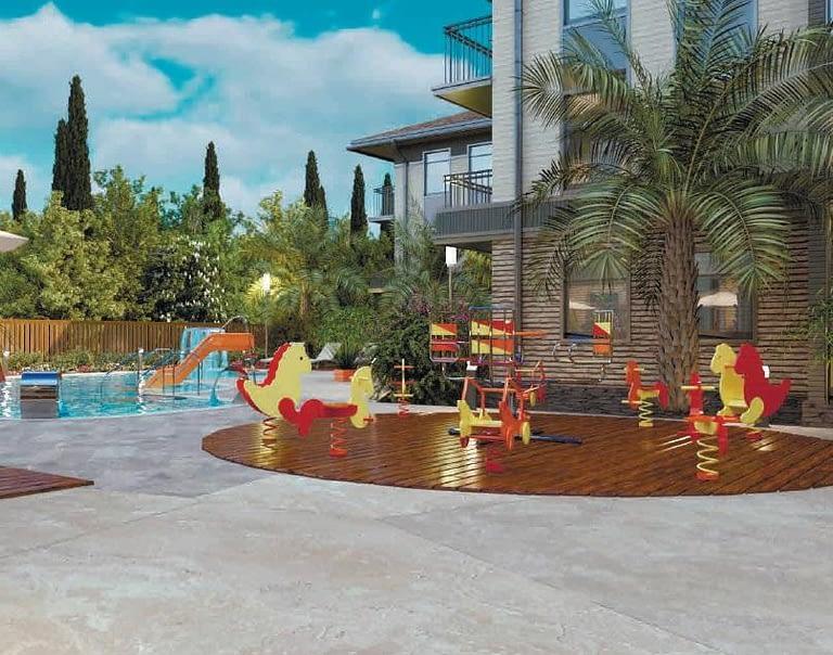 апартаменты сочи детская игровая площадка