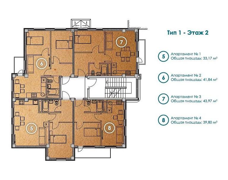 планировки апартаменты адлер