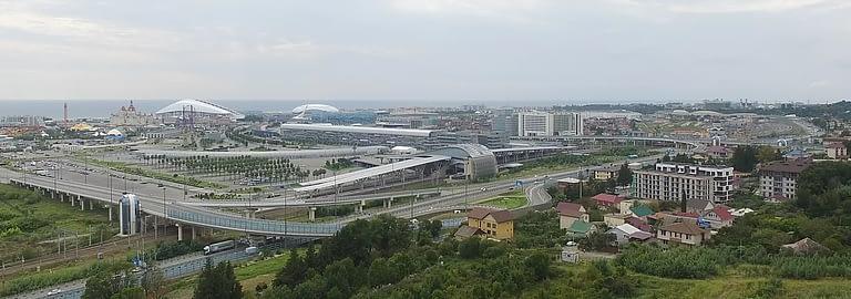 имеретинские высоты вид на олимпийский парк