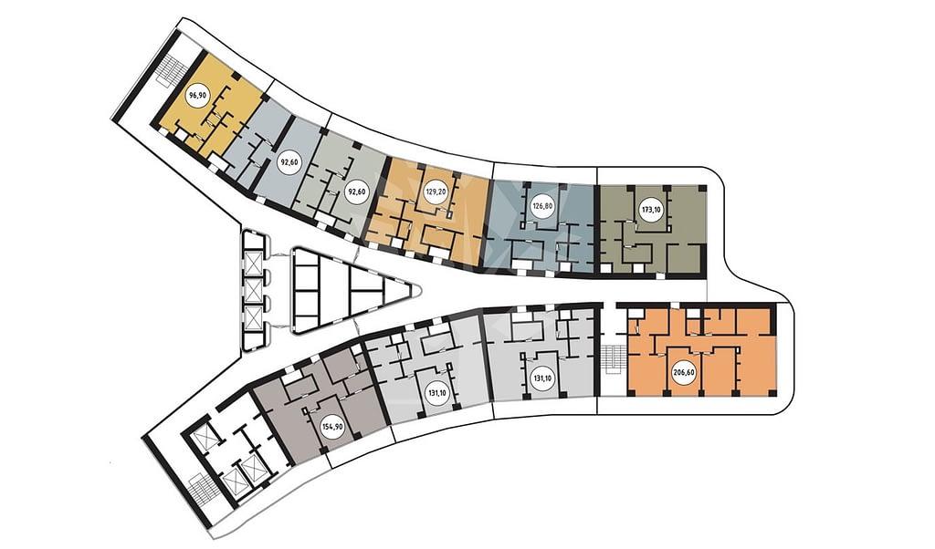 Планировка квартир в Сочи в новостройках в ипотеку.