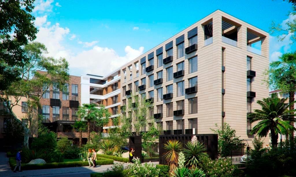 апартаментный комплекс архитектор сочи краснодарский край