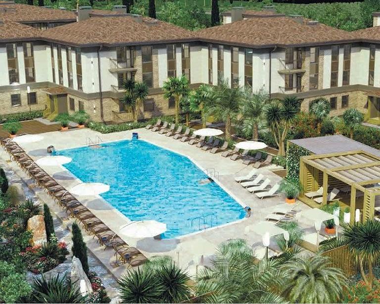 апартаменты с бассейном сочи